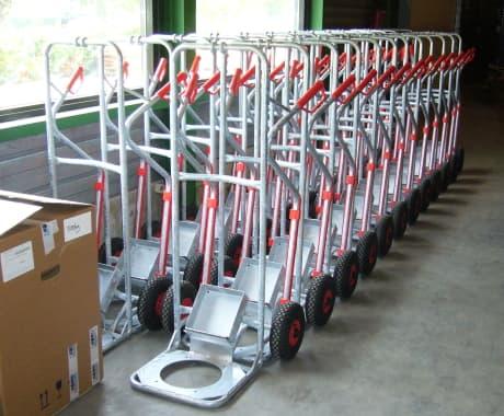 Transportkar voor Savas Seating B.V.
