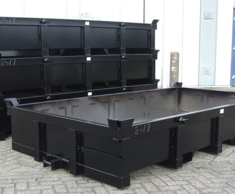 Robuuste afvalcontainers opmaat gemaakt